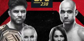 UFC 238: Cejudo vs Moraes