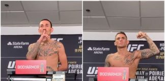 UFC 236 weigh-in results: Max Holloway vs. Dustin Poirier