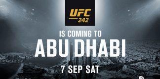 UFC 242 Abu Dhabi poster