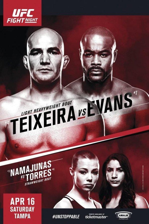 UFC on Fox 8: Johnson vs Moraga poster : MMA