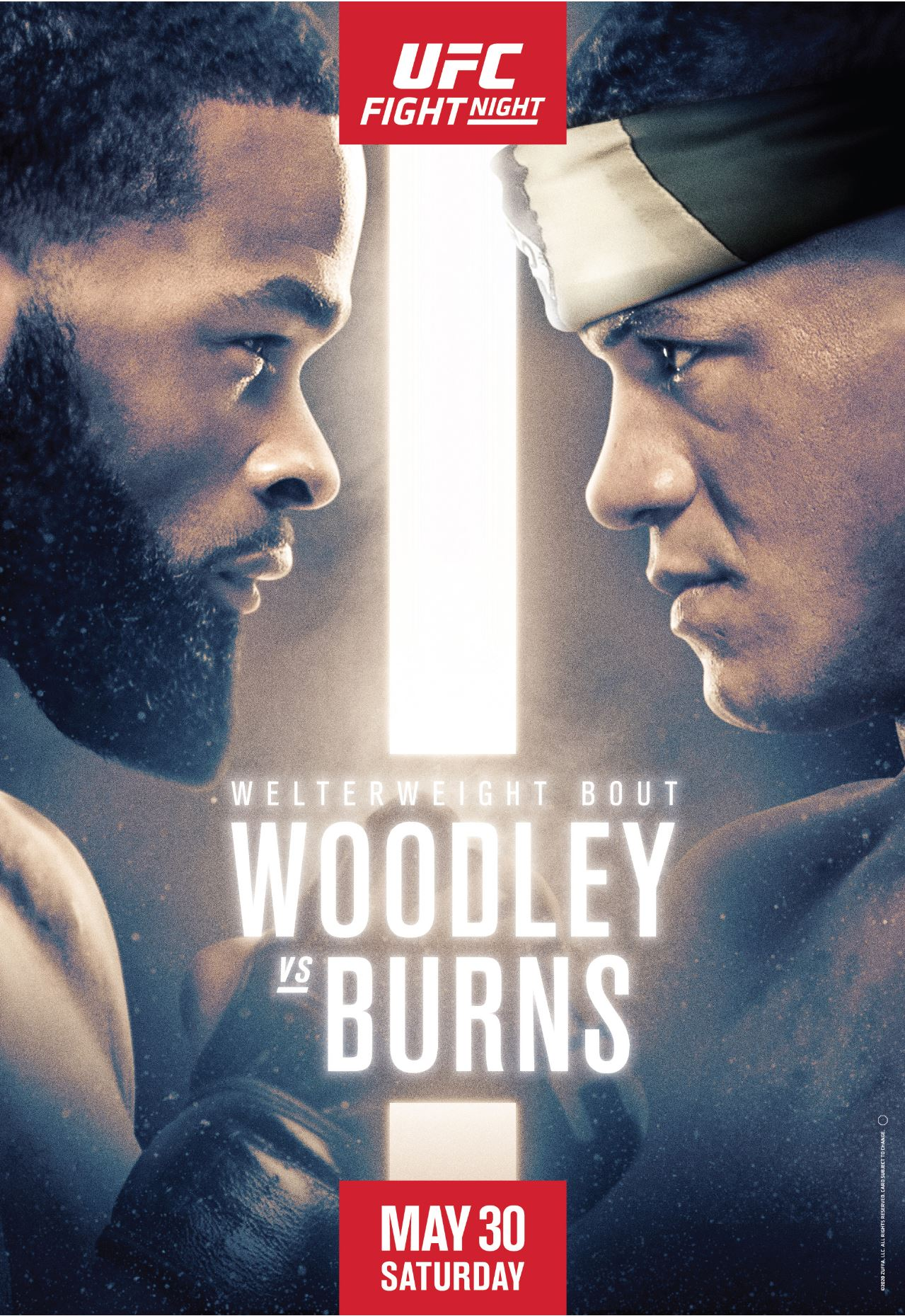 Tyron Woodley Vs Gilbert Burns Fight Stats Highlights