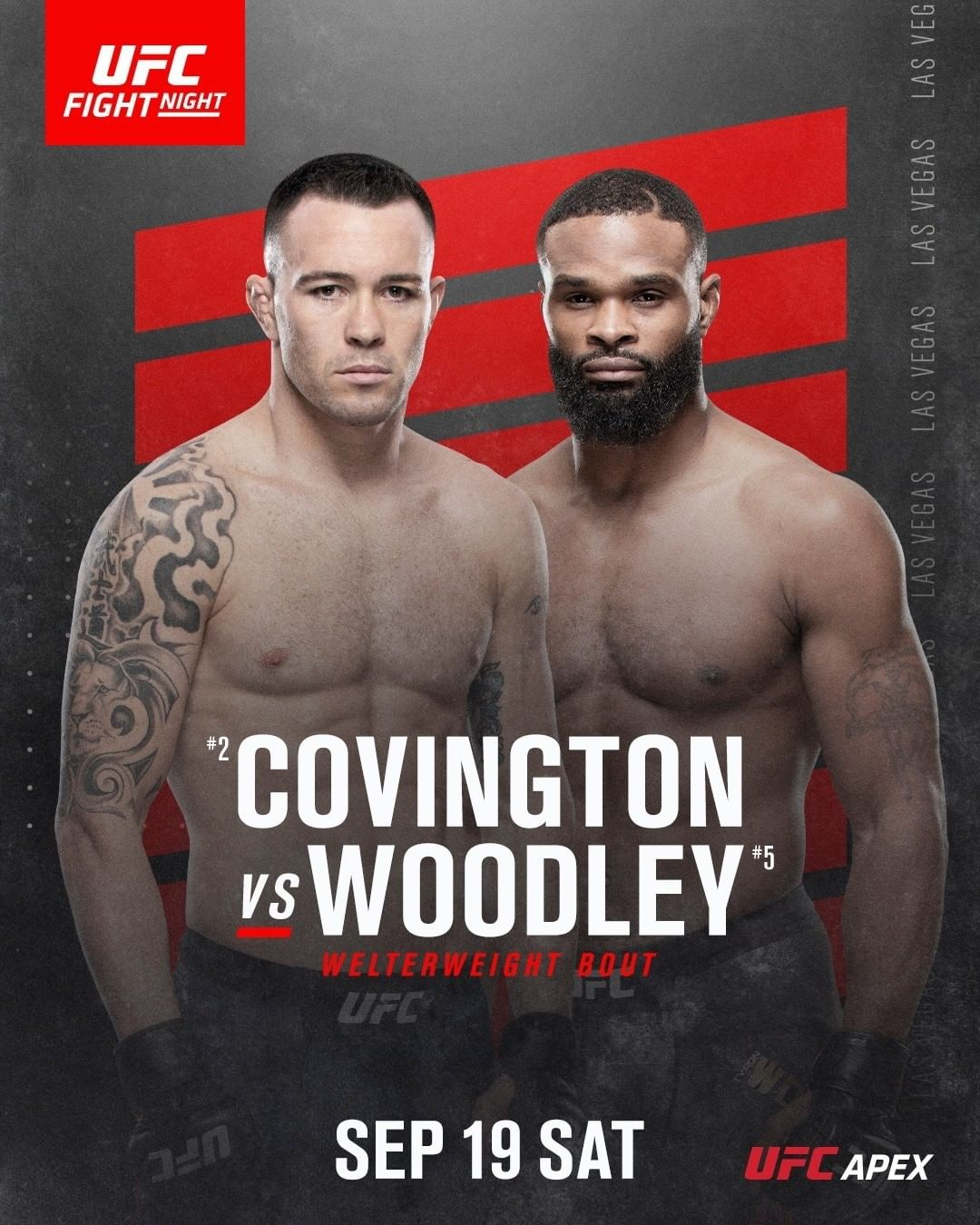 Colby Covington Vs Tyron Woodley Fight Preview Analysis