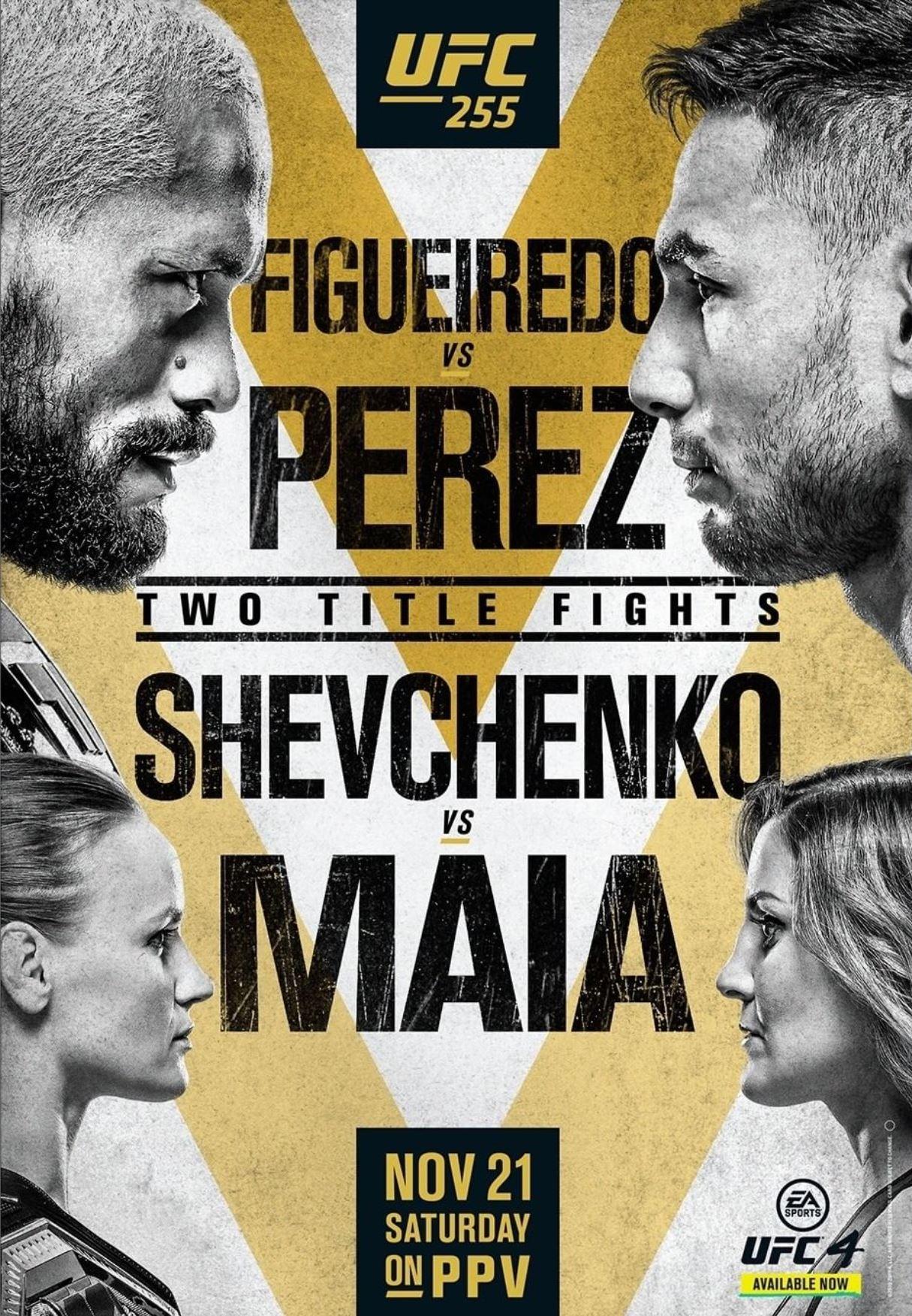 Figueiredo vs. Perez fight facts