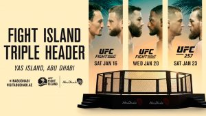 "UFC allows limited Fans for ""Fight Island"" events"