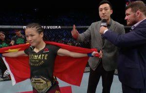 UFC President Dana White wants Zhang Weili vs Rose Namajunas in Asia