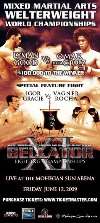 Bellator 11 results poster