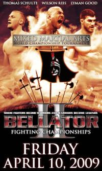 Bellator 2 results poster