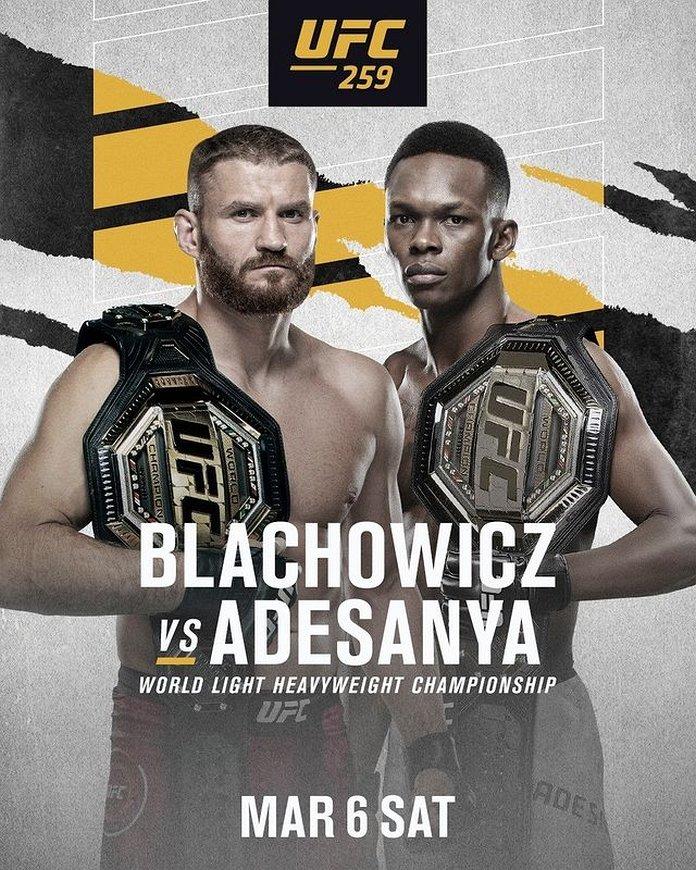 Blachowicz vs. Adesanya fight facts