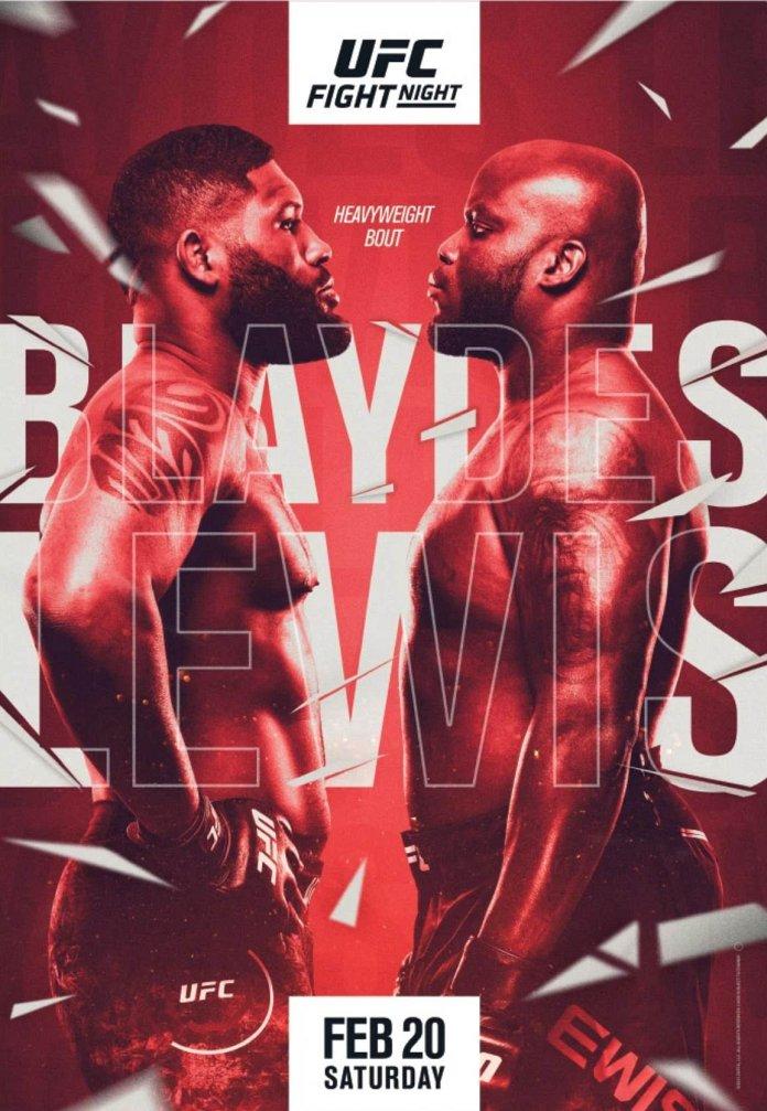 UFC Fight Night 185 Results
