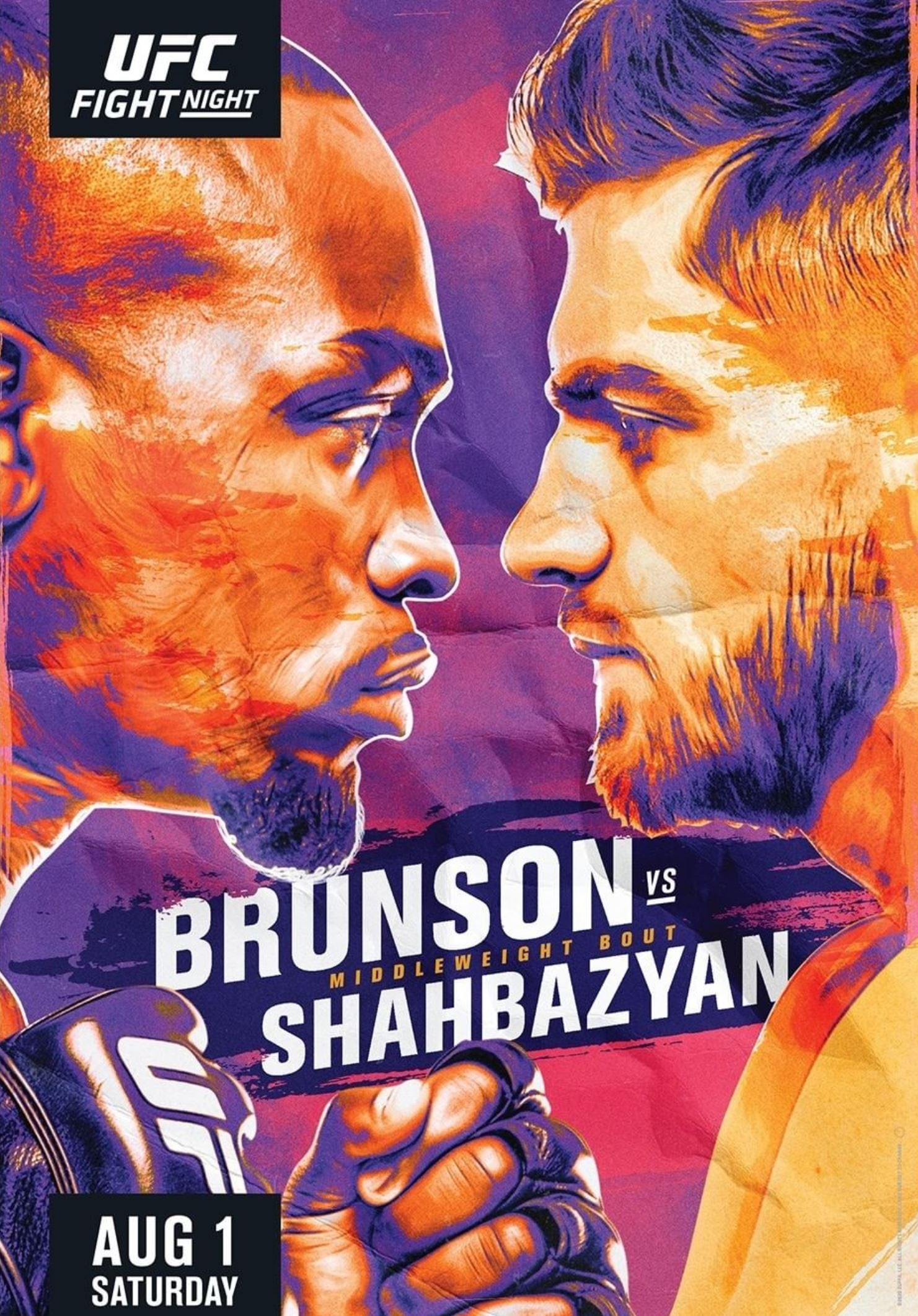 UFC Fight Night 173 results poster