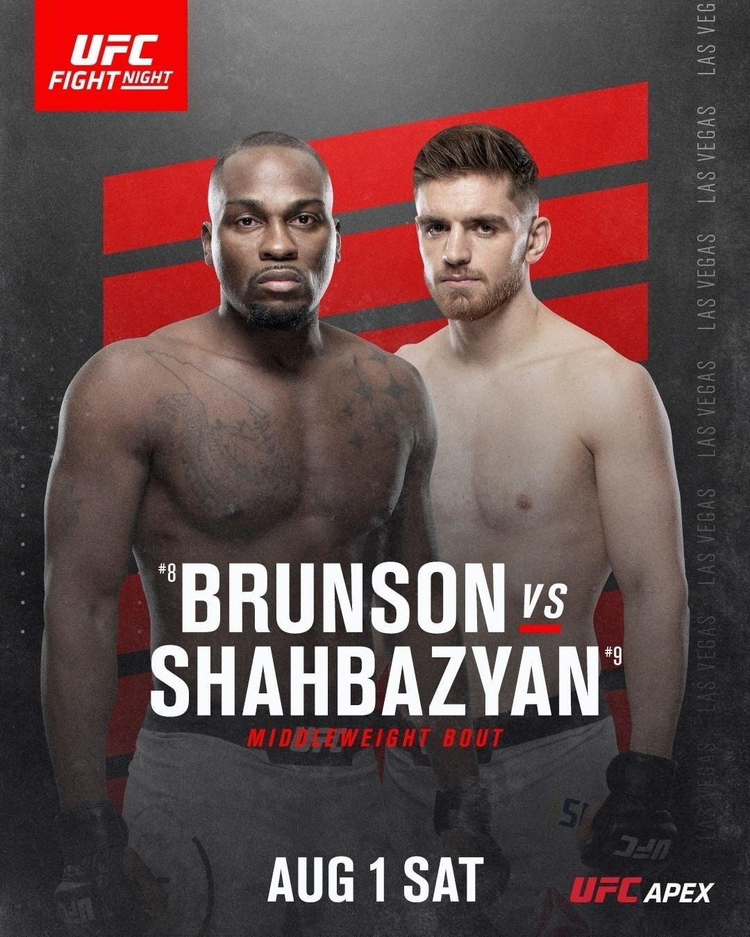 poster for UFC Fight Night 173