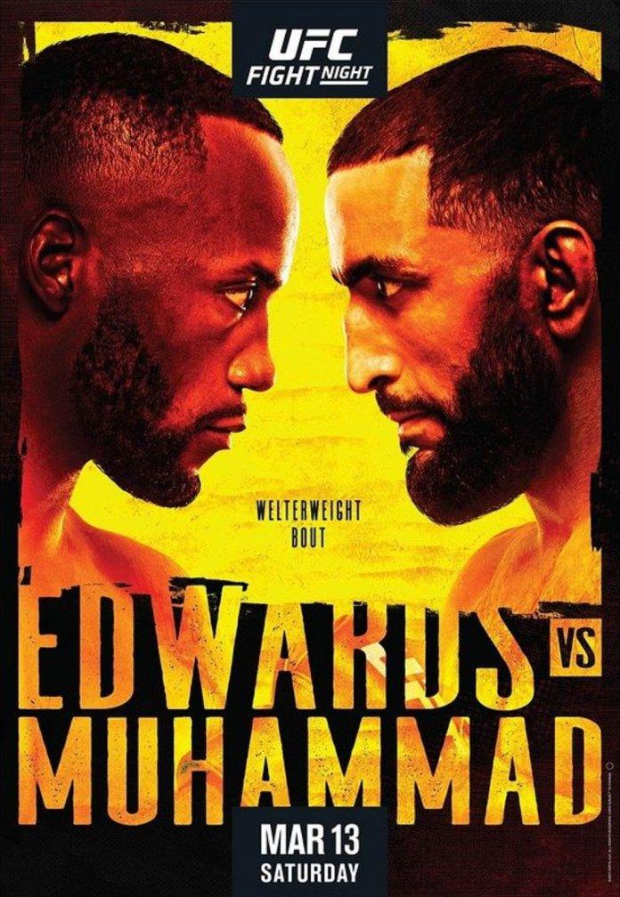 UFC Fight Night 187 Results