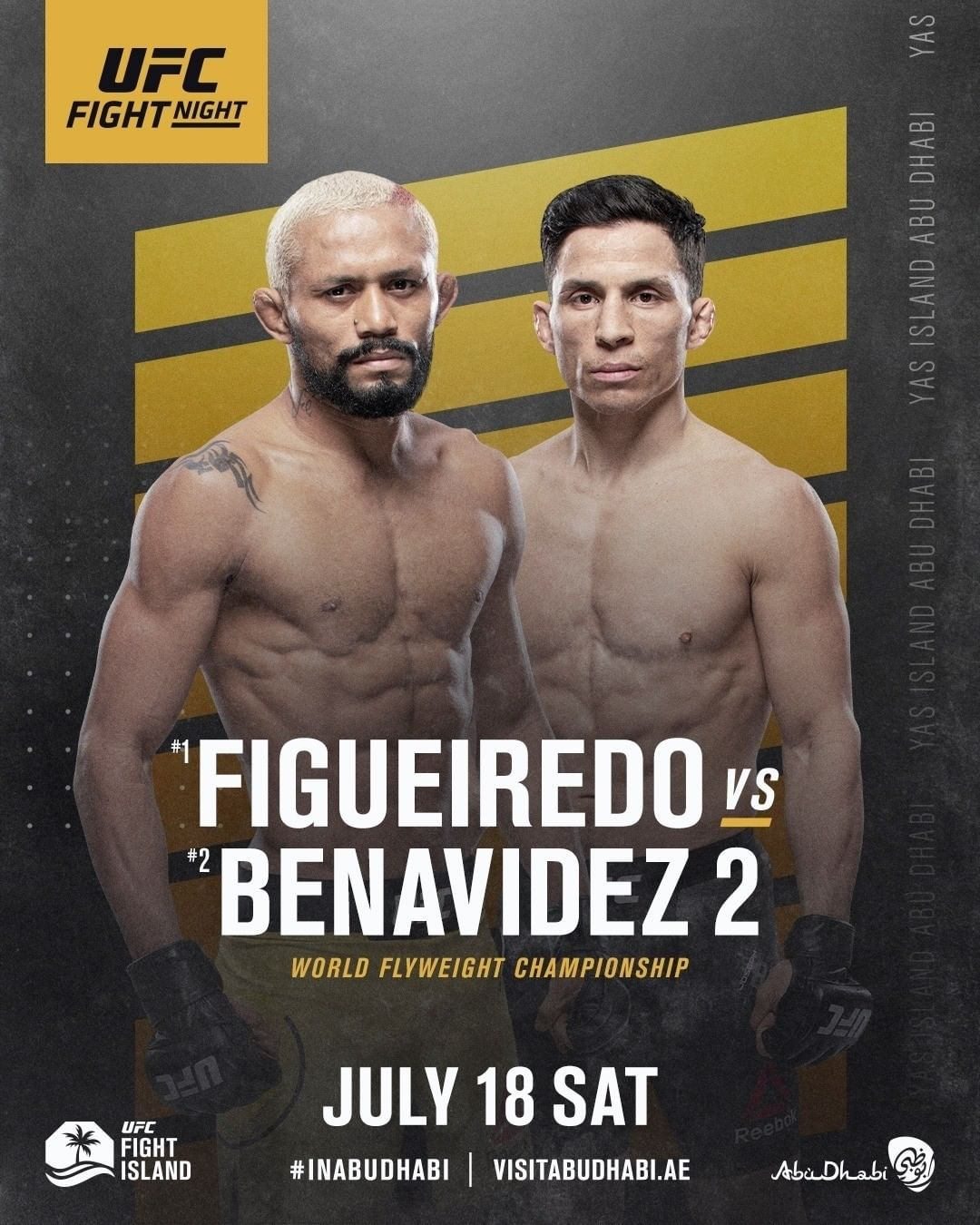 UFC Fight Night 172 results poster