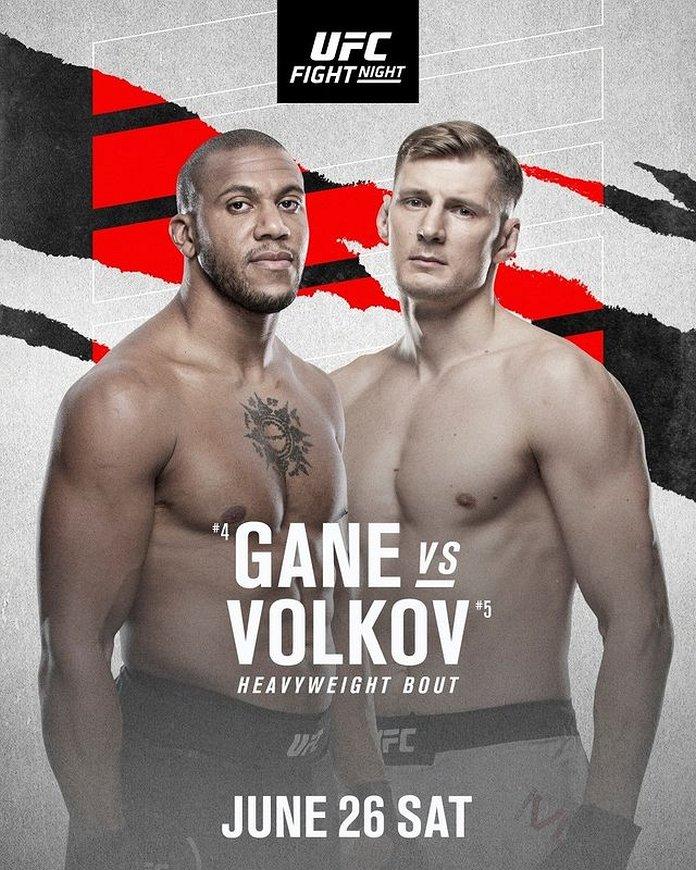UFC Fight Night 190 bonuses payout poster