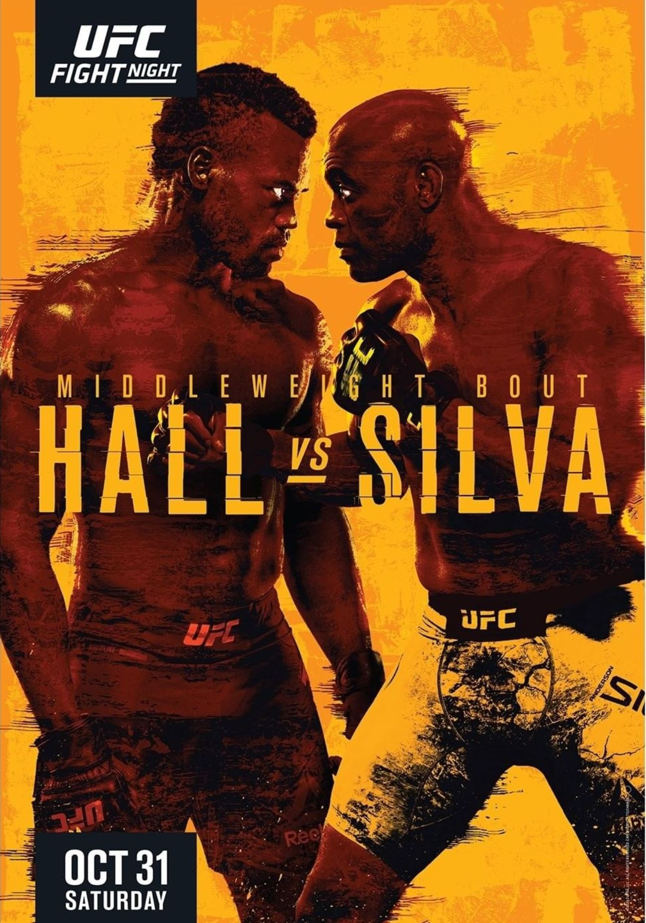 Look Ufc Fight Night 181 Poster For Hall Vs Silva Released