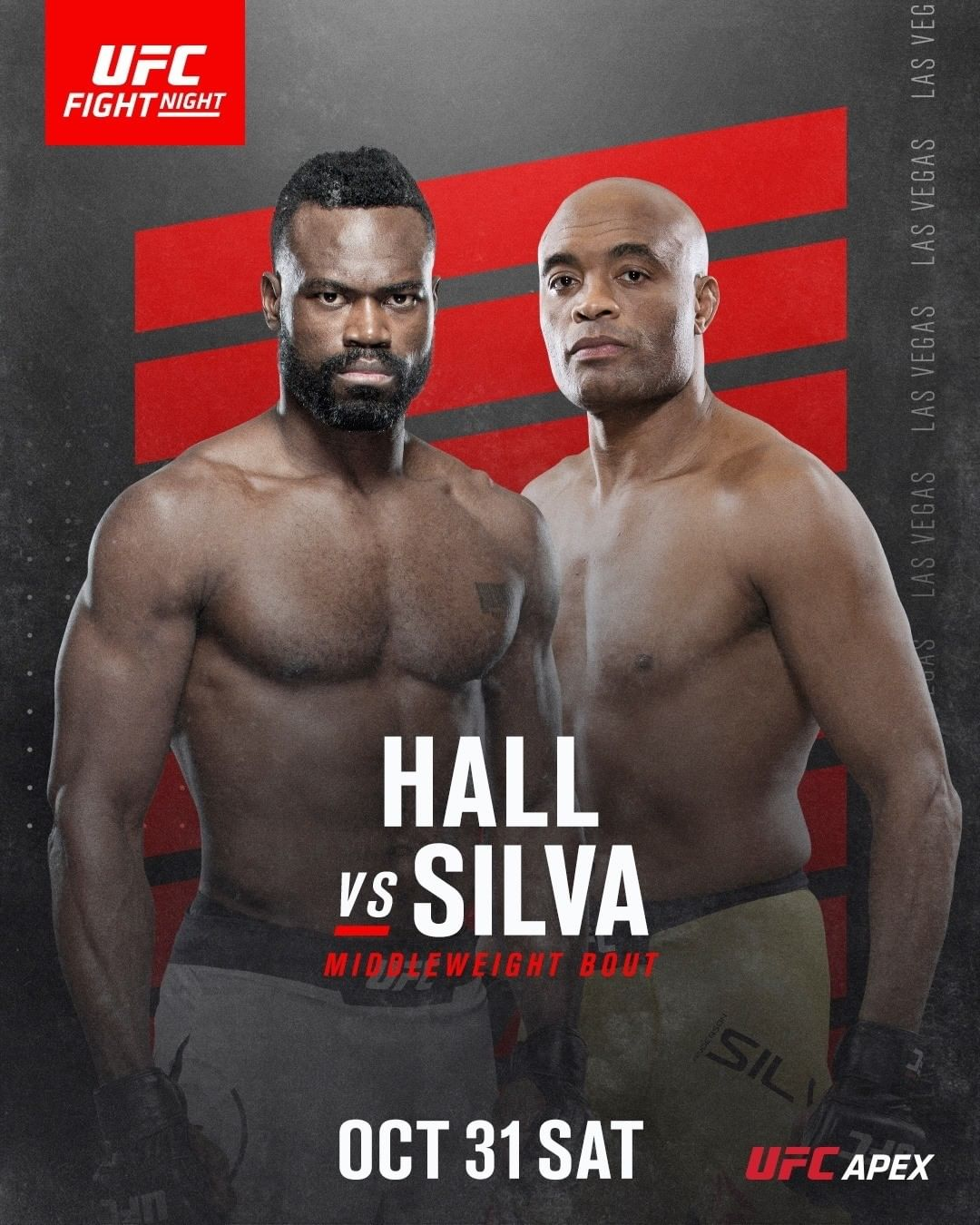 Hall vs. Silva fight facts