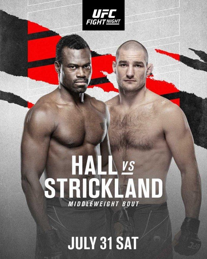 UFC Fight Night 193 bonuses payout poster