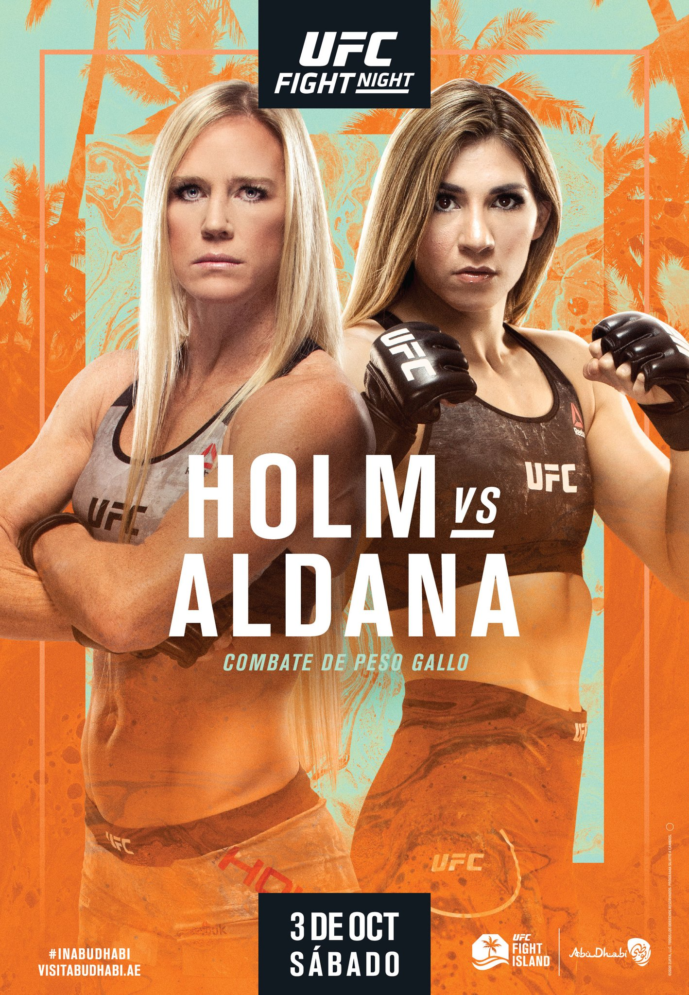 UFC on ESPN 16 results poster