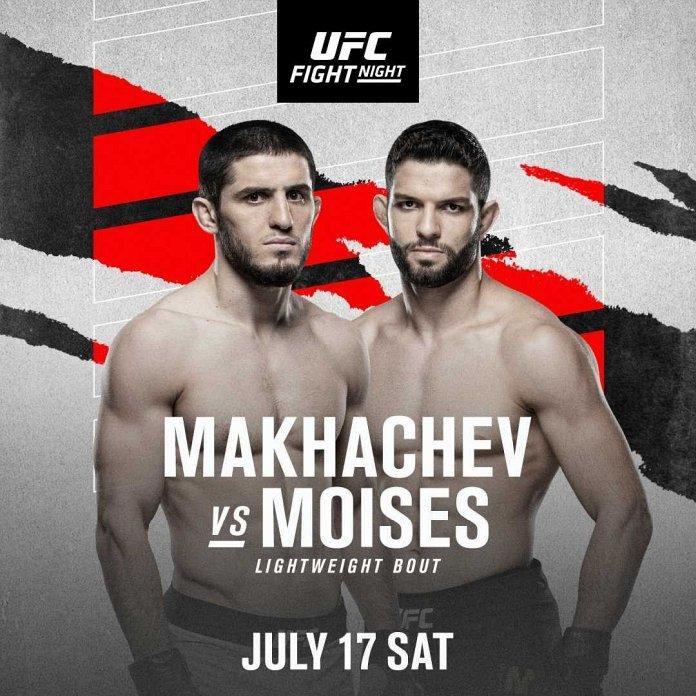 new UFC Fight Night 191 poster