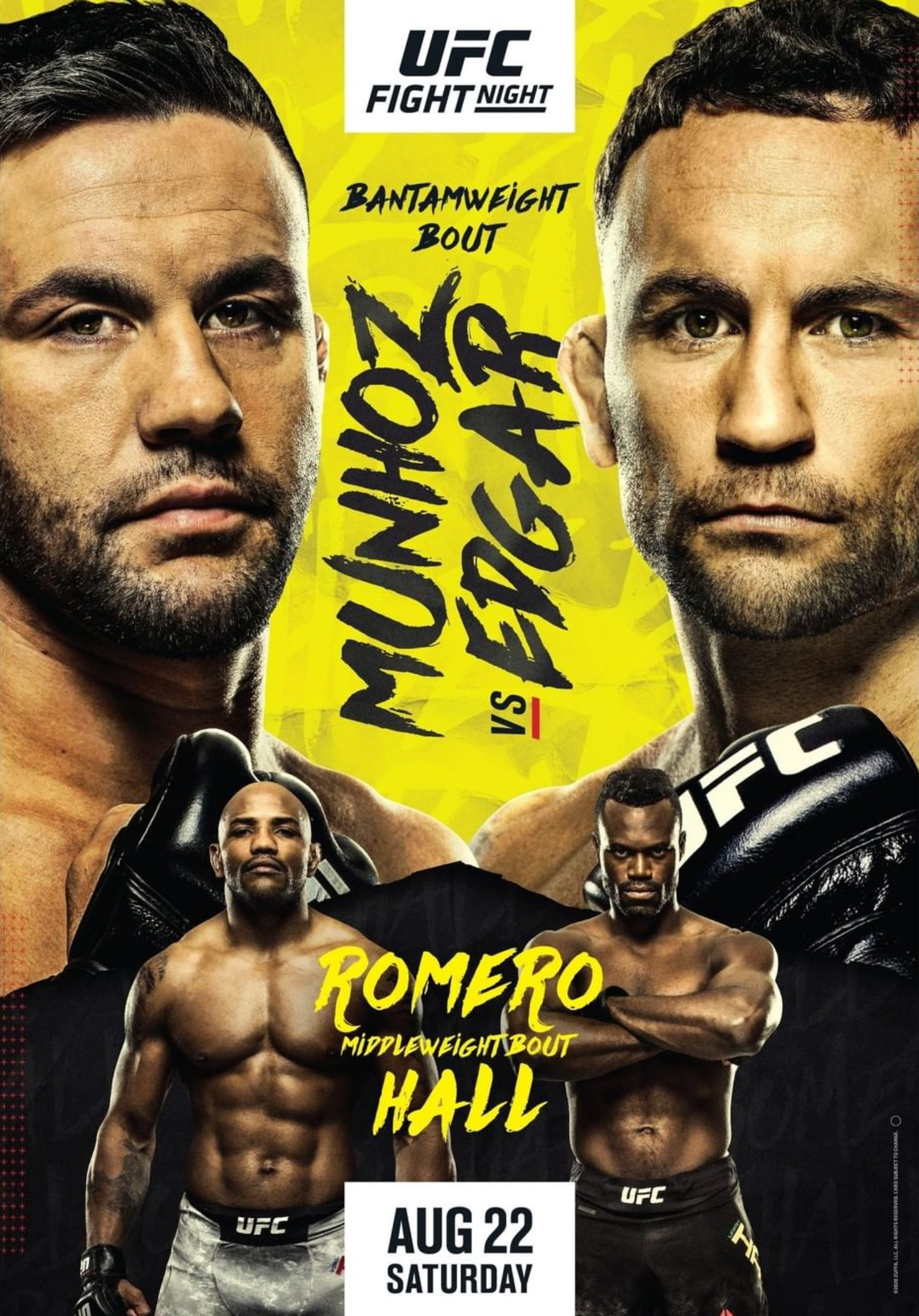UFC Fight Night 175 Poster