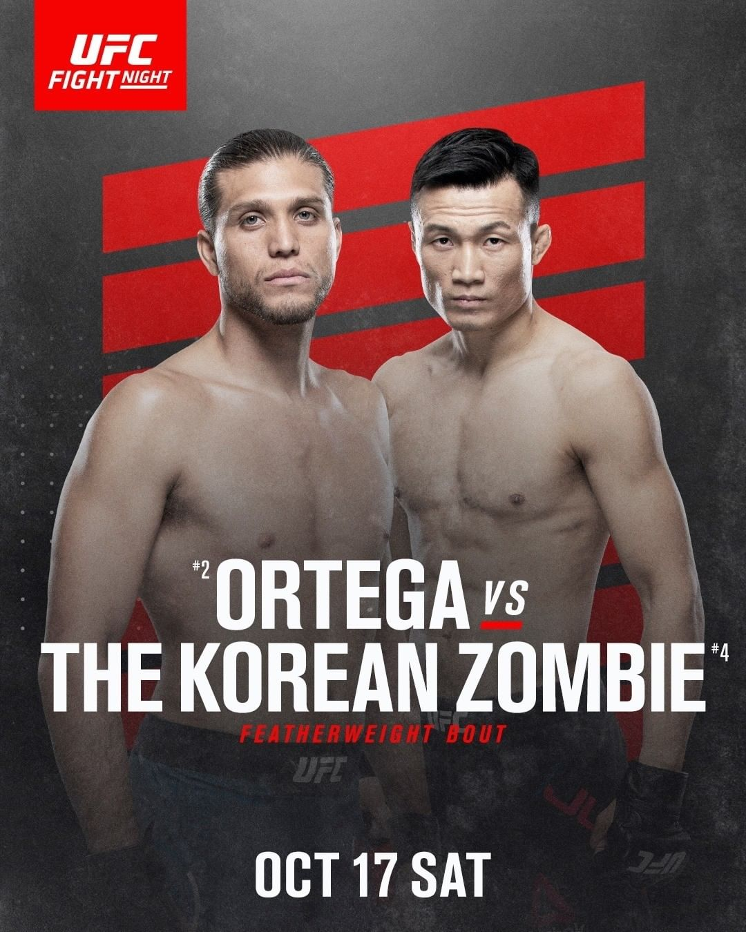 poster for UFC Fight Night 180