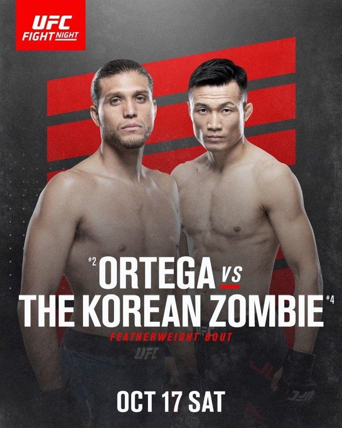 new UFC Fight Night 181 poster