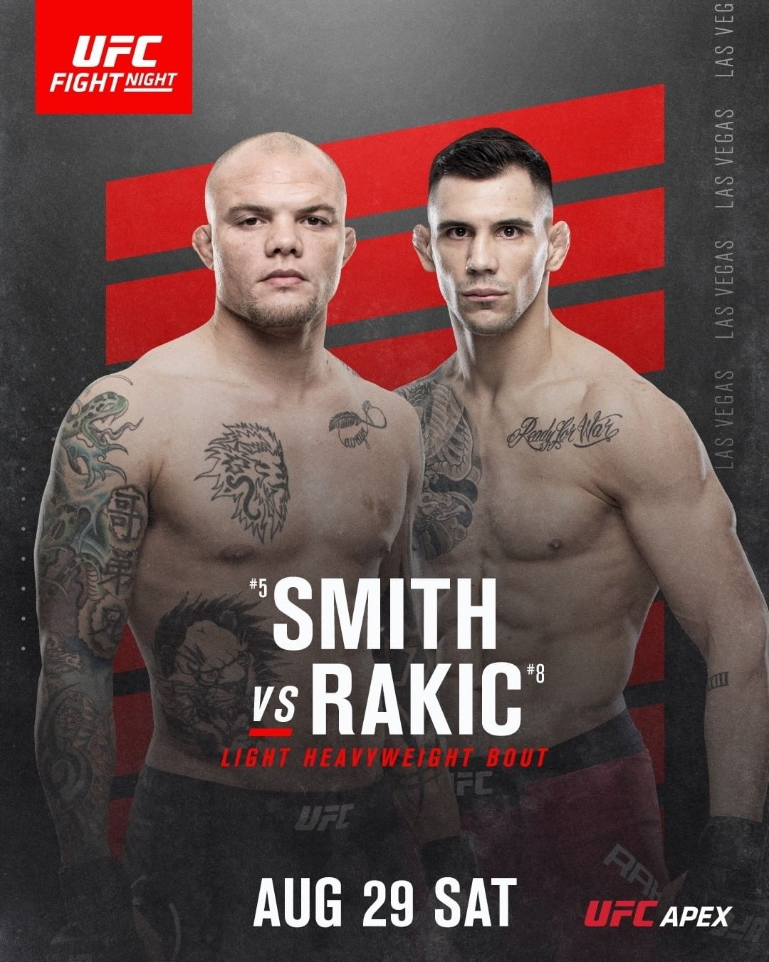 photo promo for UFC Fight Night 175