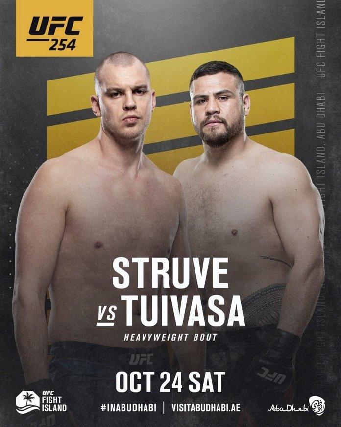 Stefan Struve vs. Tai Tuivasa fight preview