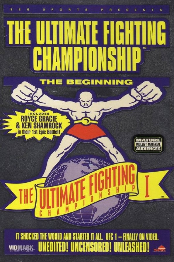 UFC 1 results poster
