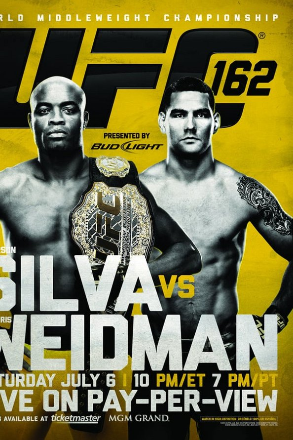 UFC 162 results poster