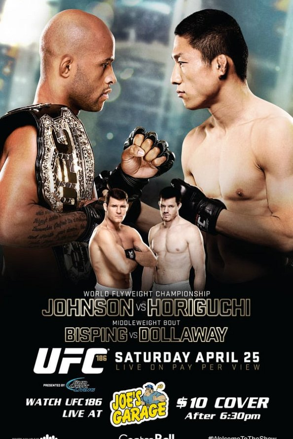 UFC 186 Fight Card – Main Card & Prelims Lineup