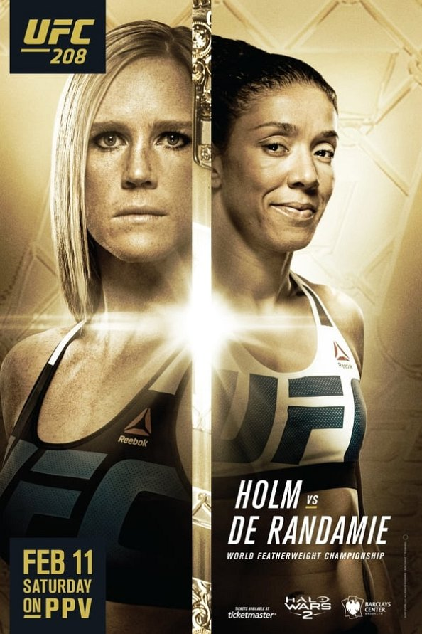 UFC 208 results poster