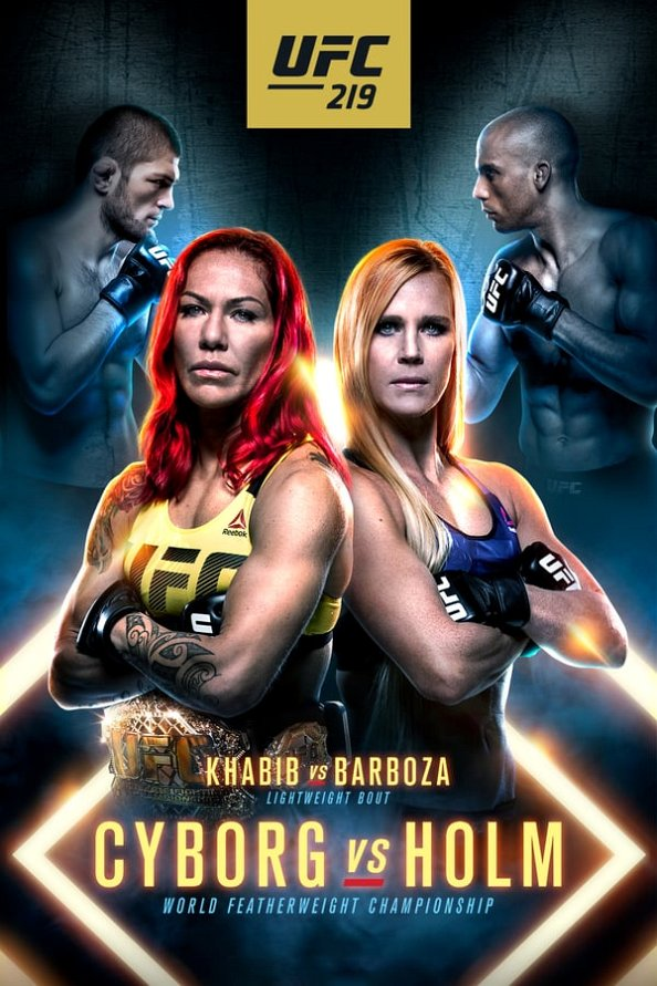 UFC 219 results poster