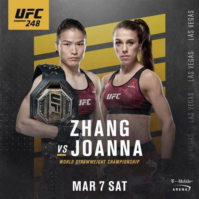 photo promo for UFC 248