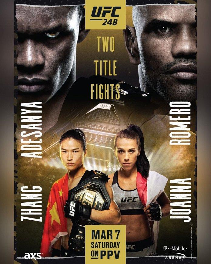 UFC 248 Adesanya vs. Romero weigh-in