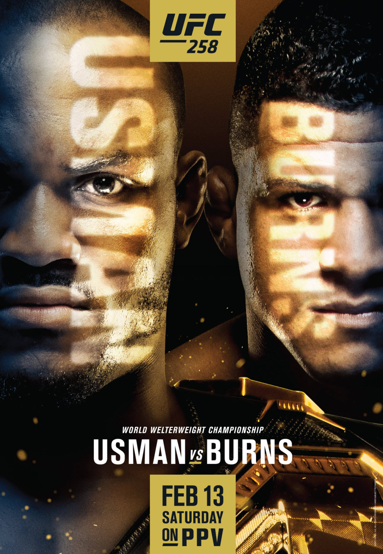 UFC 258 Results