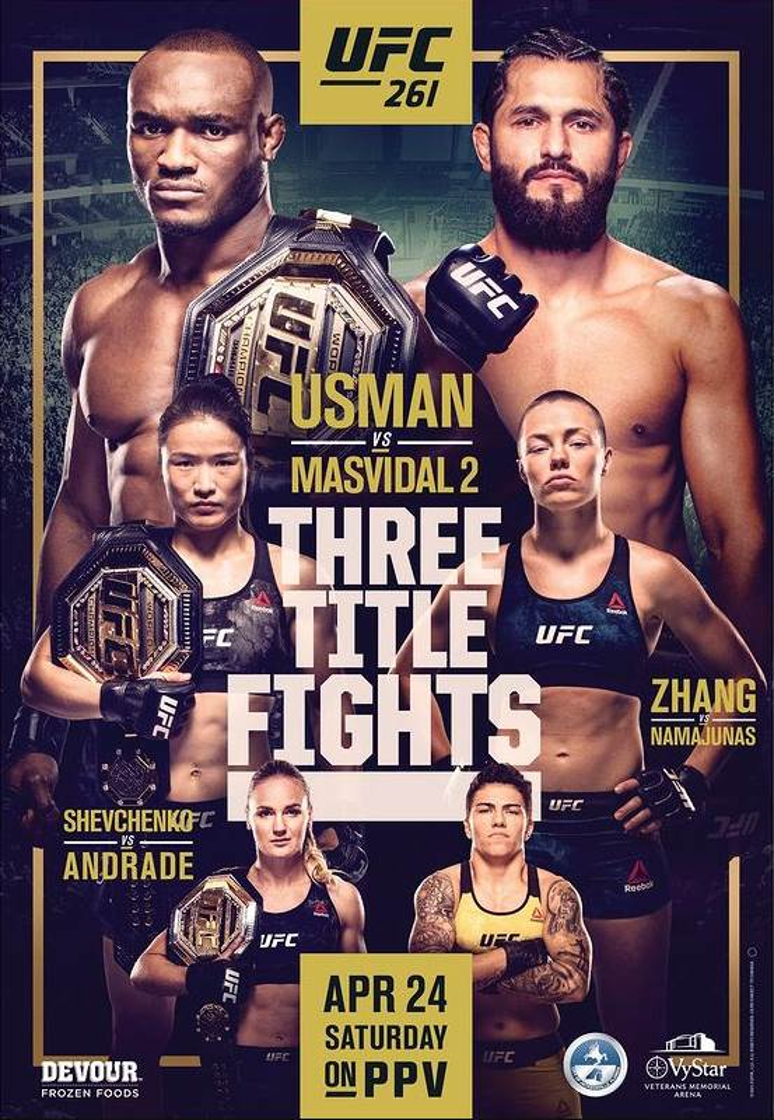 UFC 261 promo photo