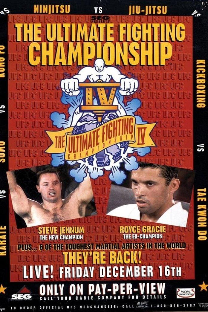 UFC 4: Revenge of the Warriors poster