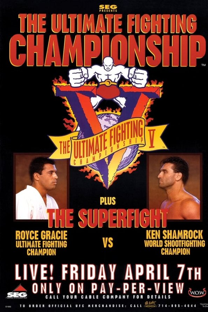 UFC 5: Gracie vs. Shamrock 2 poster