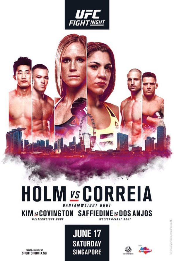 UFC Fight Night 111 results poster