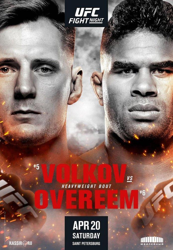 UFC Fight Night 149 Fight Card...