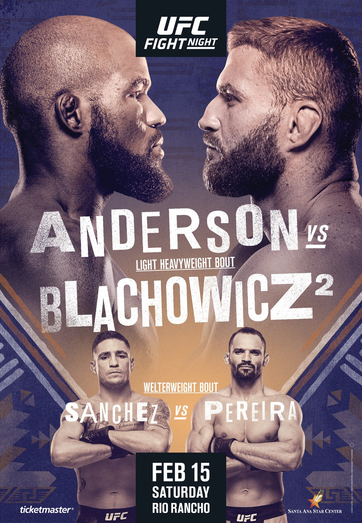 UFC Fight Night 167 results poster