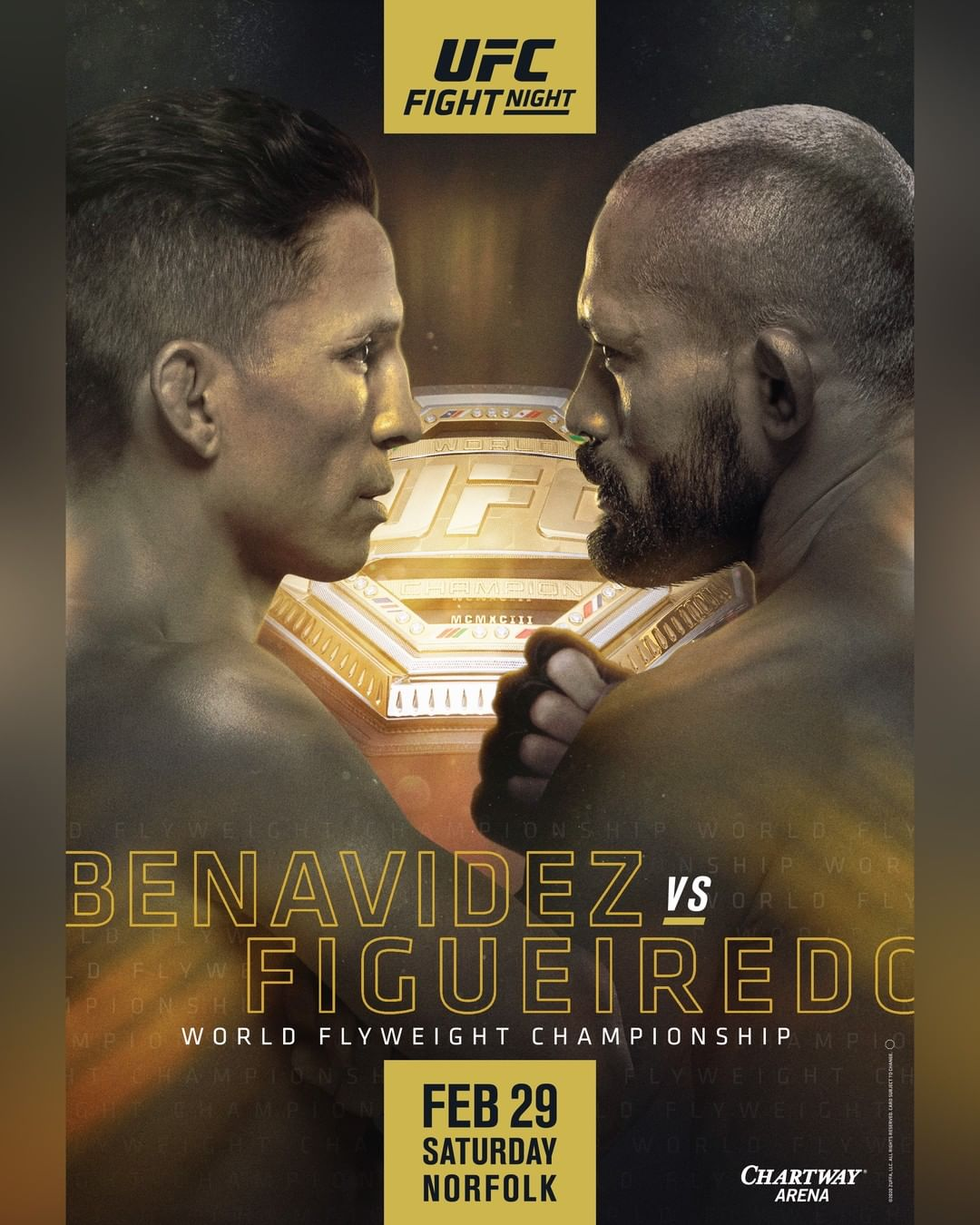 new UFC Fight Night 169 poster