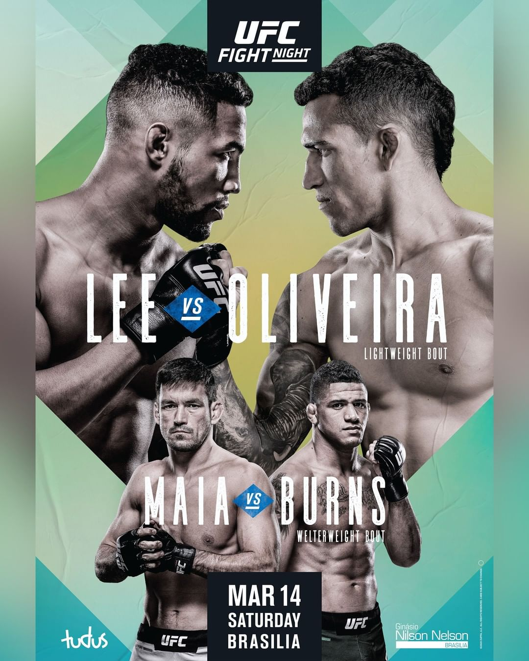 UFC Fight Night 170 results poster