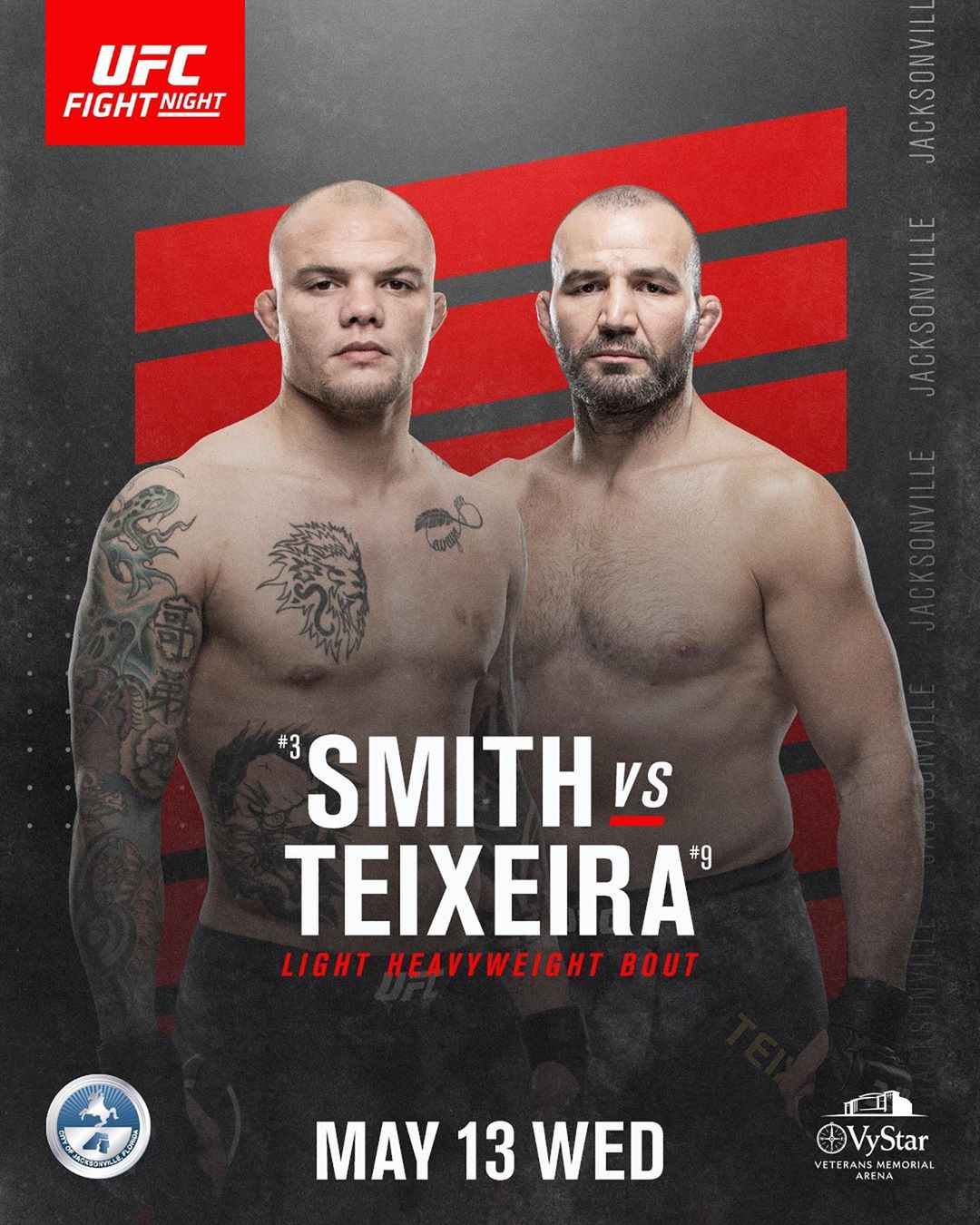 poster for UFC Fight Night 171