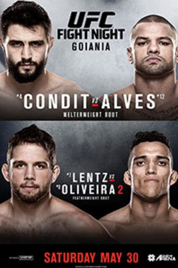 UFC Fight Night 67 results poster
