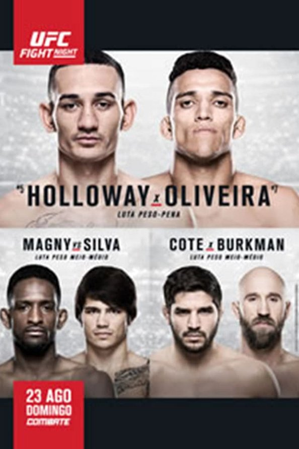 UFC Fight Night 74 results poster