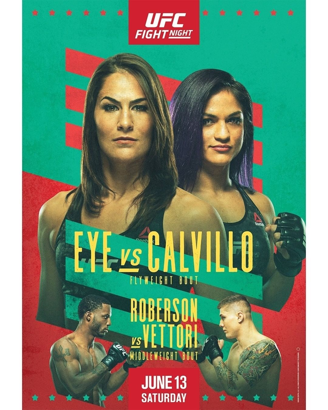 UFC on ESPN 10 results poster