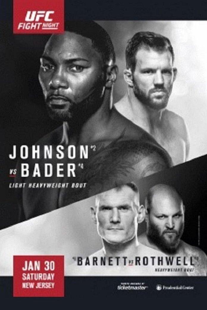 UFC on FOX 10 full poster pic for Henderson vs. Thomson
