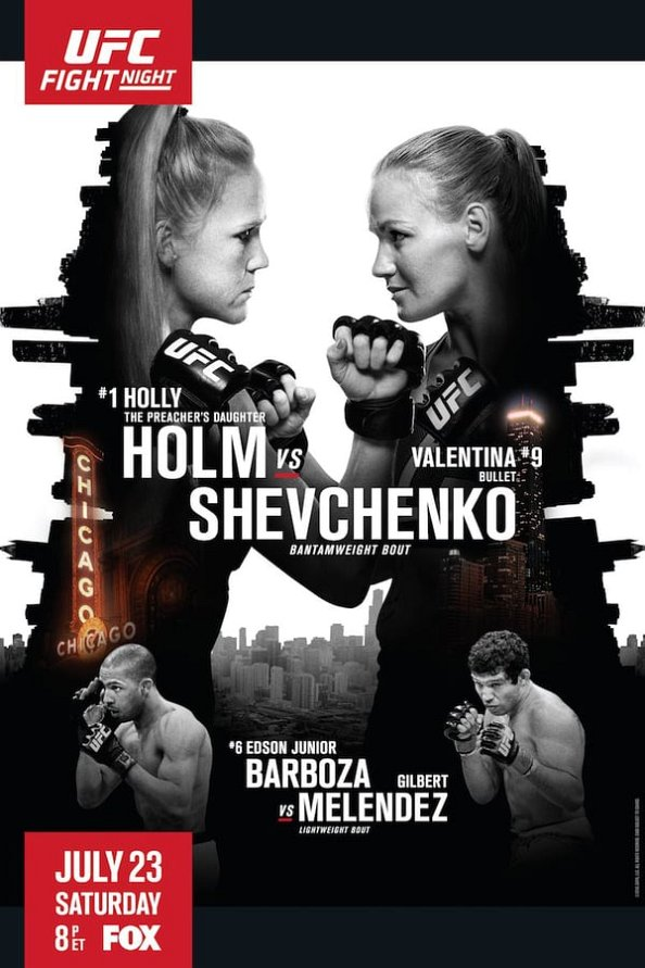 UFC on Fox 20 results poster